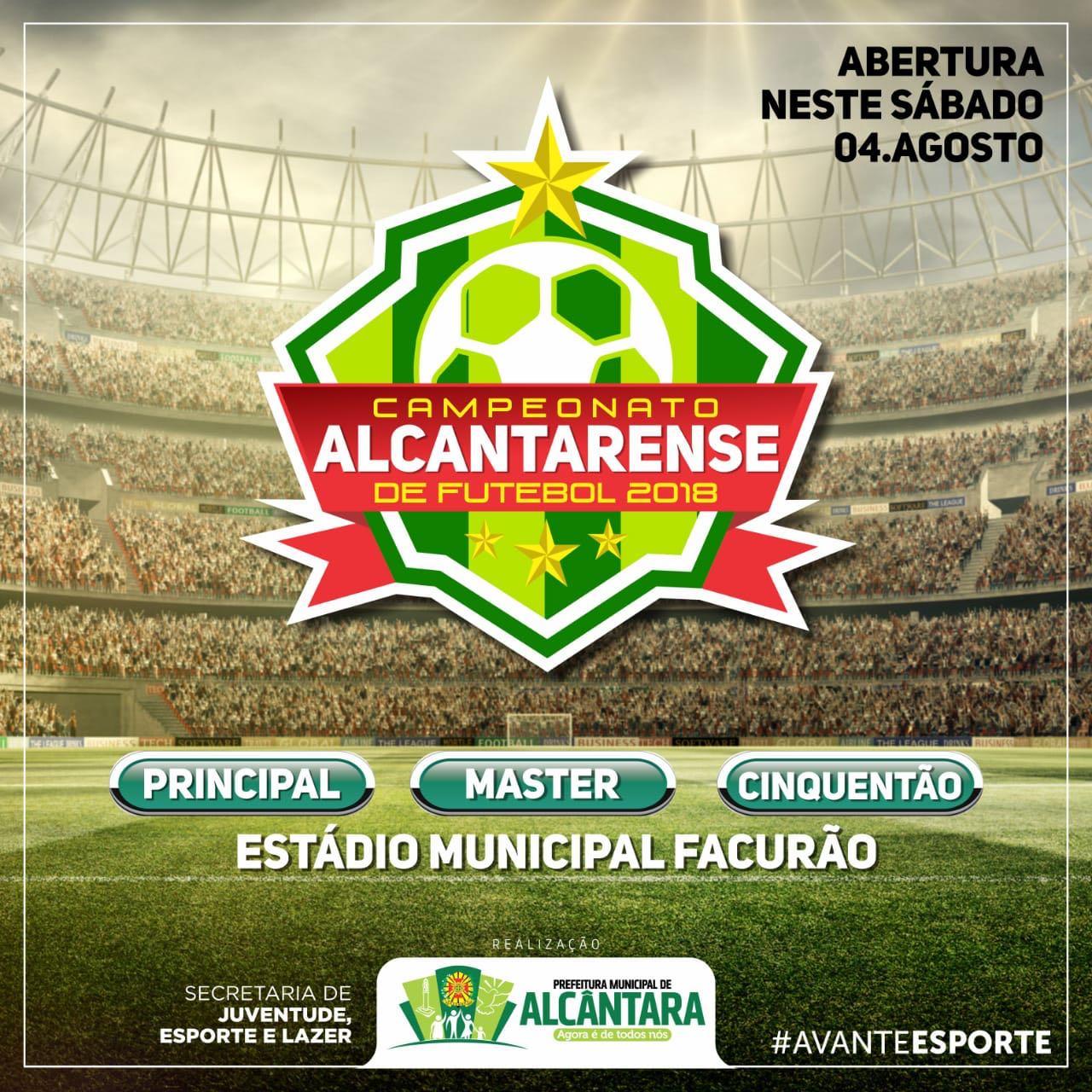 Photo of Vai começar o Campeonato Alcantarense de Futebol 2018