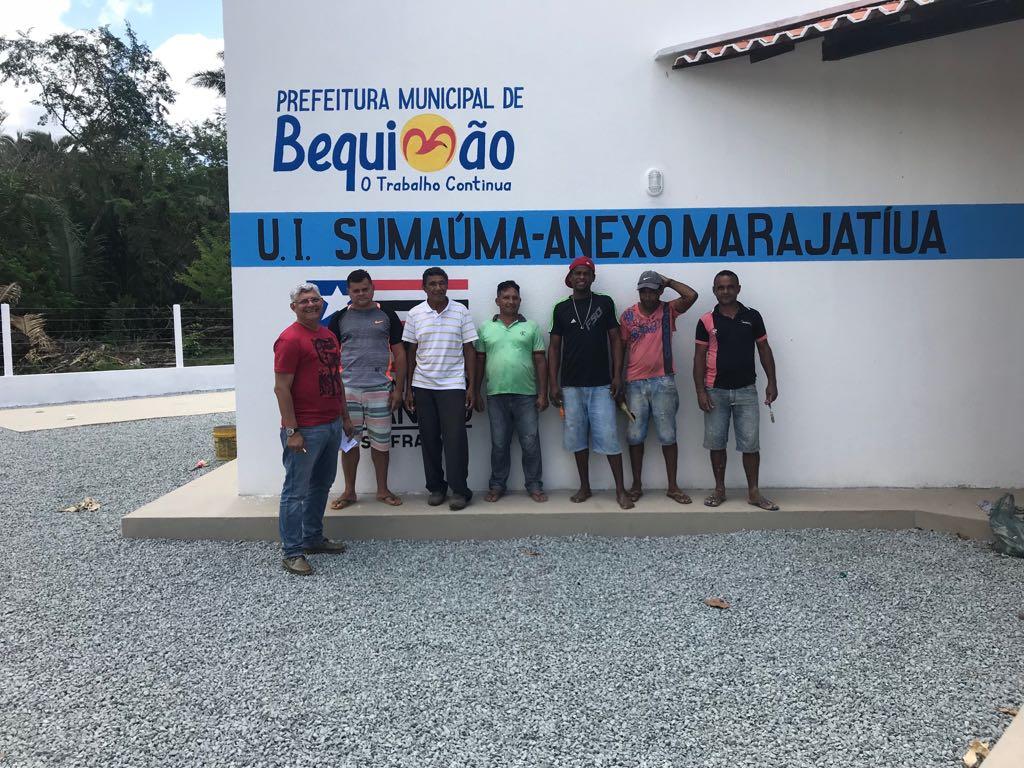 Photo of Prefeitura de Bequimão e Governo do Estado inauguram Escola em Marajatiua nesta quarta-feira (15)