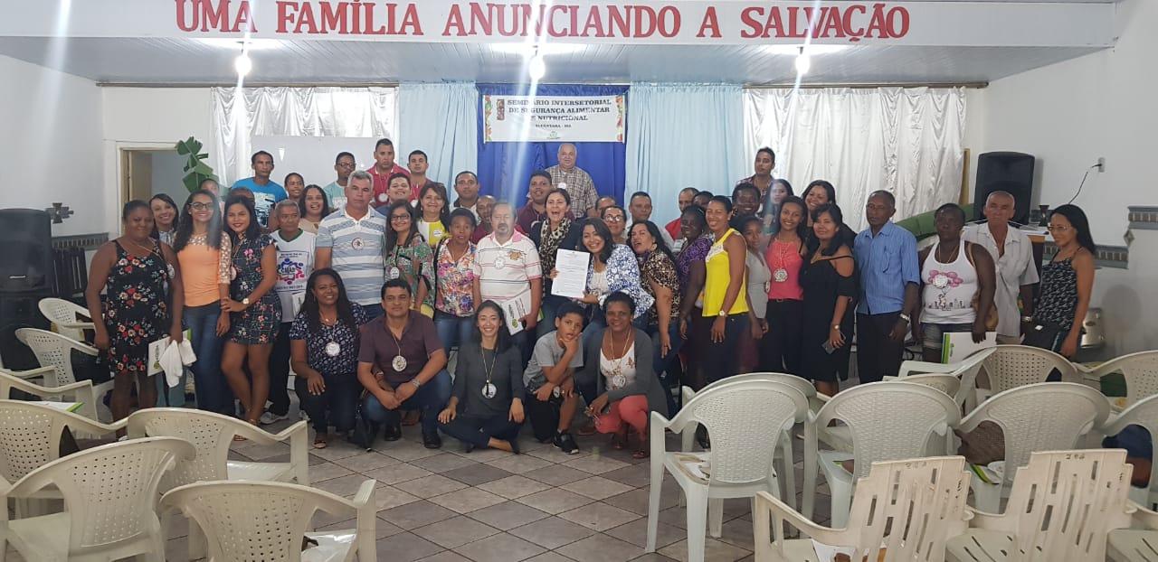 Photo of I Seminário de Segurança Alimentar e Nutricional de Alcântara-MA