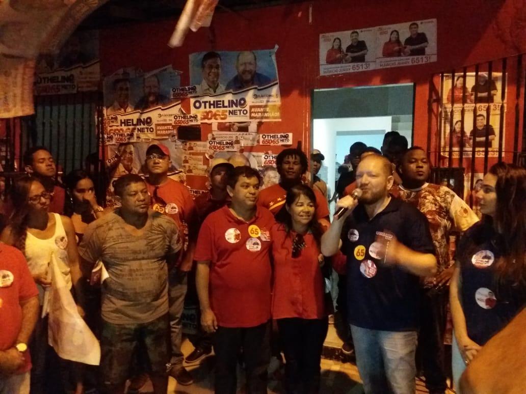 Photo of Vereadora Fátima Araújo faz caminhada com seus candidatos no bairro João de Deus