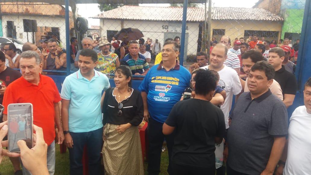 Photo of Fátima Araújo participa da inauguração do estádio Moreirão, no bairro Santo Antônio