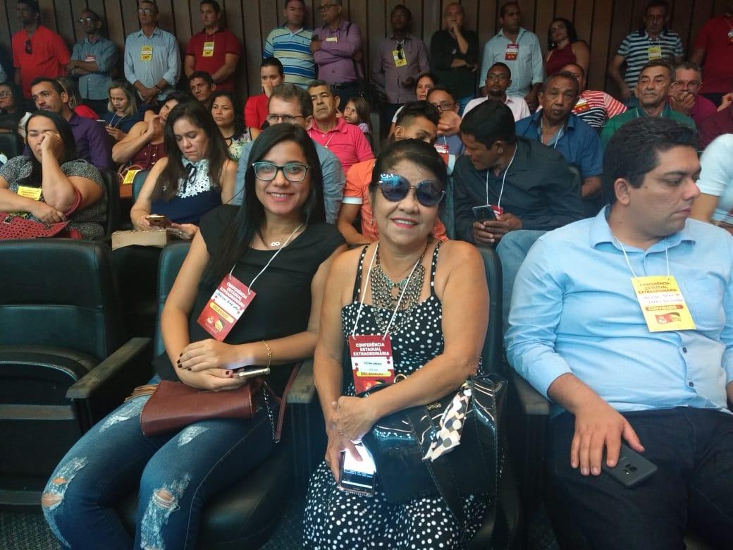 Photo of Fátima Araújo participa de Conferência Estadual Extraordinária do PCdoB