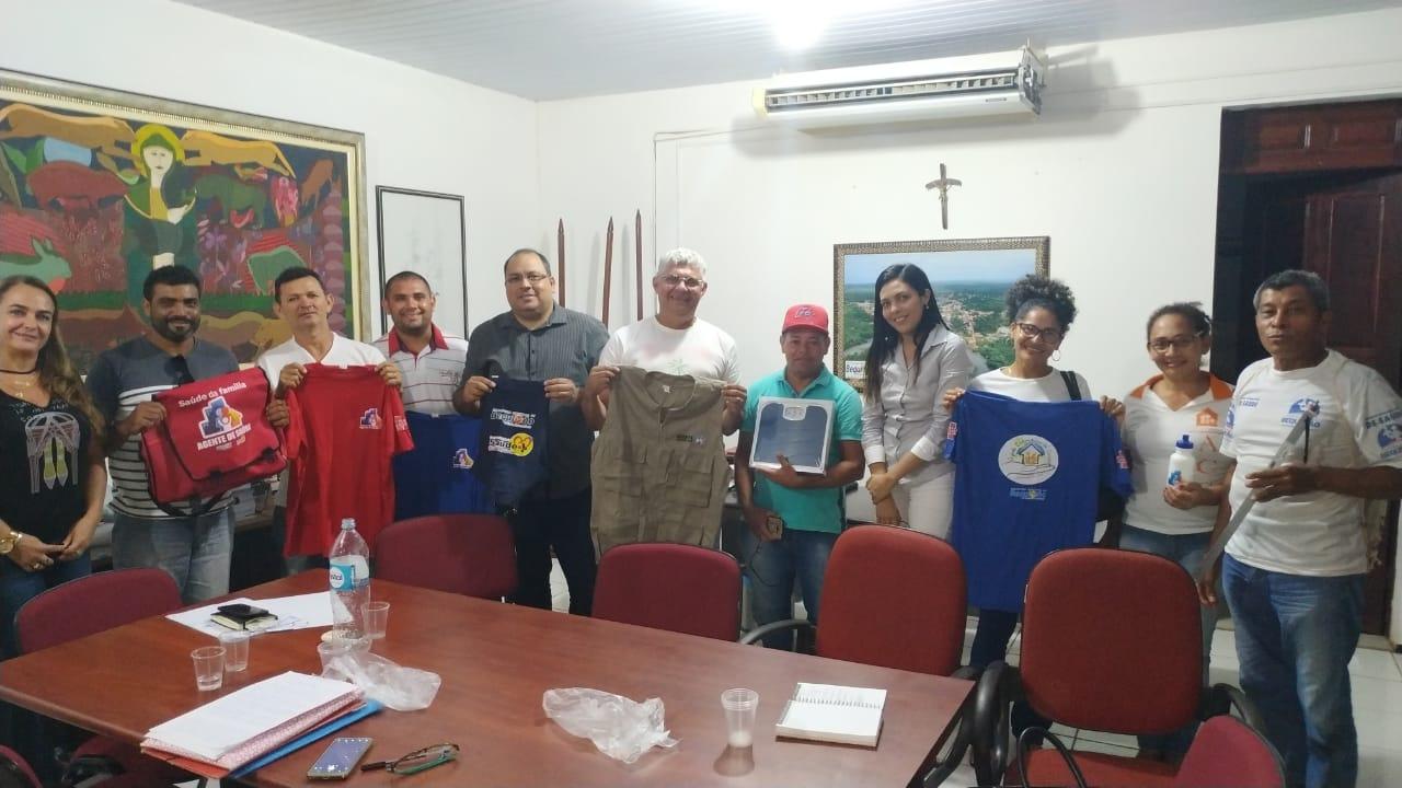 Photo of Prefeito Zé Martins reúne com representantes dos Agentes Comunitários de Saúde
