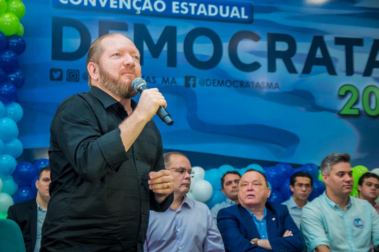 Photo of Othelino prestigia convenção do DEM e destaca importância do partido na atual conjuntura política