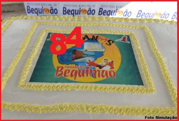 Foto de Prefeitura de Bequimão divulga a programação do Aniversário de 84 anos da cidade