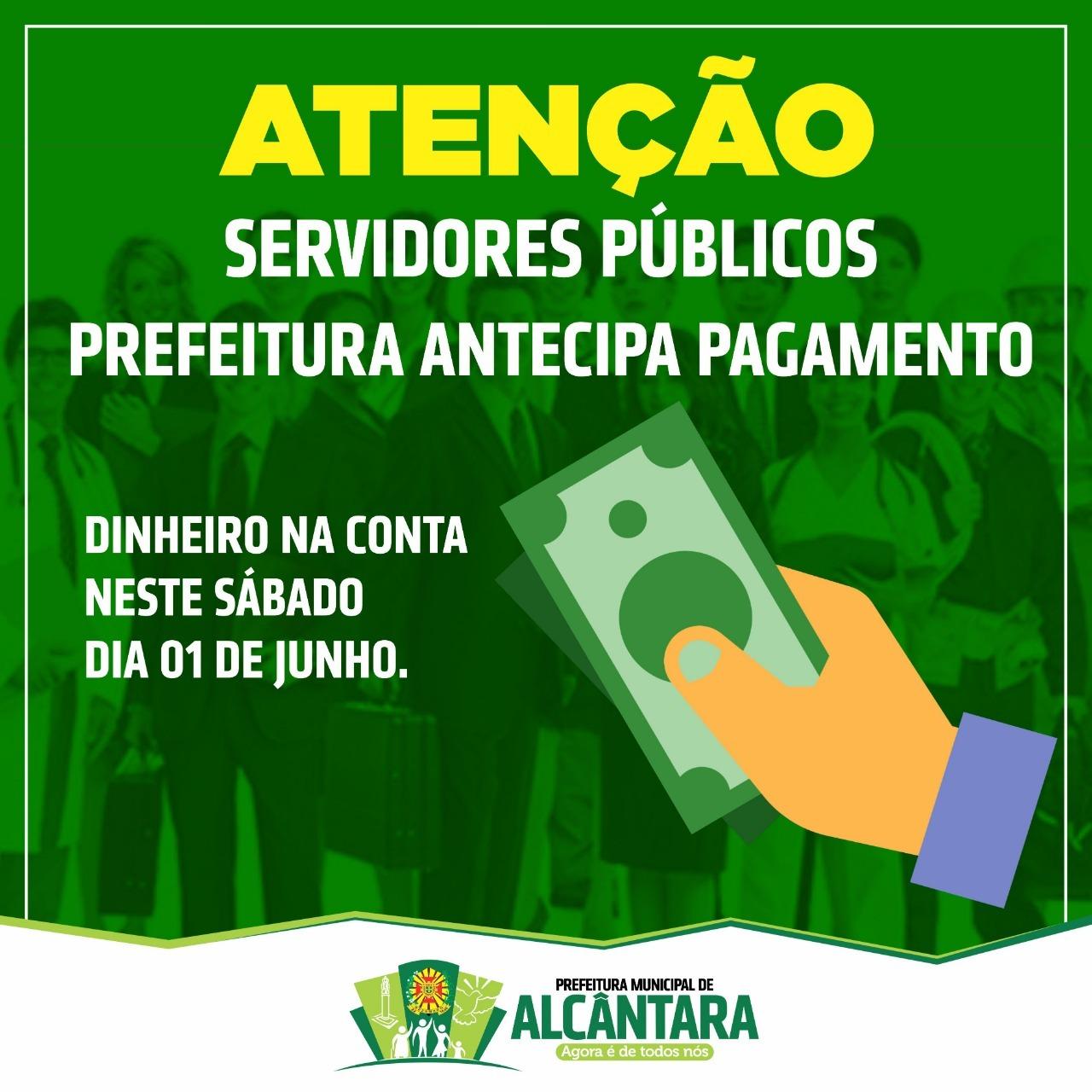 Photo of Prefeito de Alcântara antecipa salário referente ao mês de maio