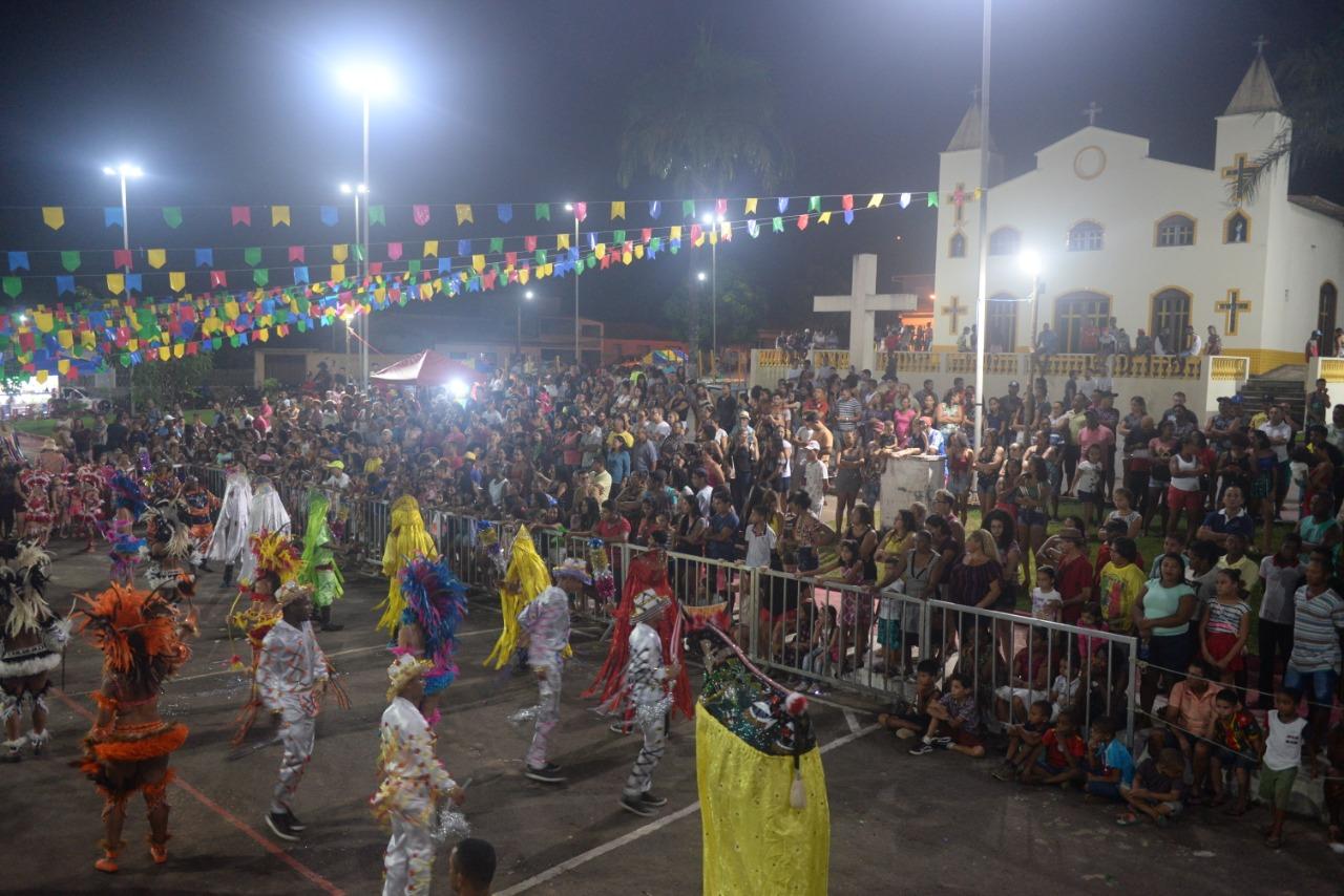 Photo of Grande público prestigiou Arraial da Gente, dia de São João na Praça da Matriz em Bequimão
