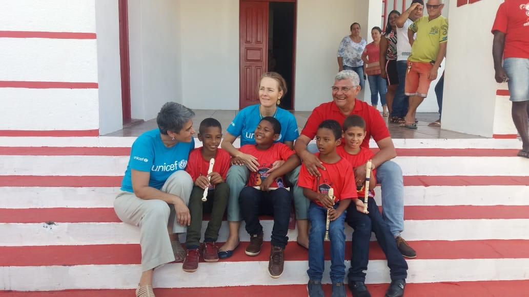 Photo of Representante nacional do Unicef visita Bequimão para conhecer o projeto da Semana do Bebê Quilombola