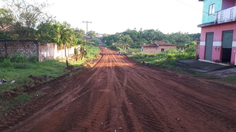 Photo of Ruas e estradas vicinais estão sendo recuperadas em Bequimão-MA