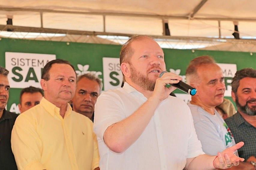 Photo of Othelino Neto participa da abertura da Agritec em Presidente Dutra-MA