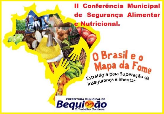 Photo of Prefeitura de Bequimão vai realizar a II Conferência Municipal de Segurança Alimentar nesta segunda-feira (12)