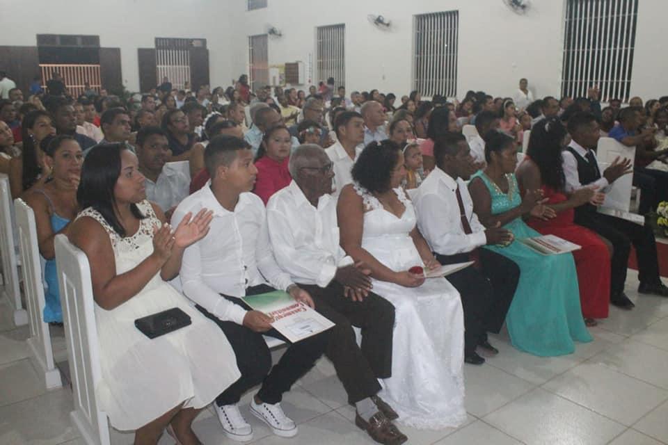 Photo of Corregedoria Geral de Justiça e vereadora Fátima Araújo realizam Casamento Comunitário no bairro Vila Conceição/João de Deus