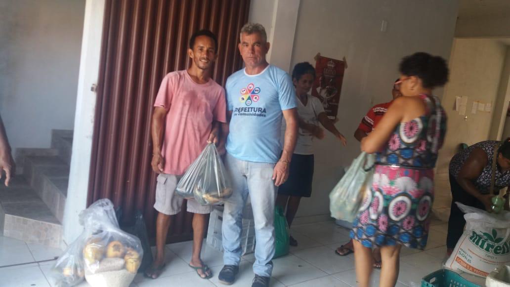 Photo of Prefeitura de Alcântara entrega alimentos para famílias carentes