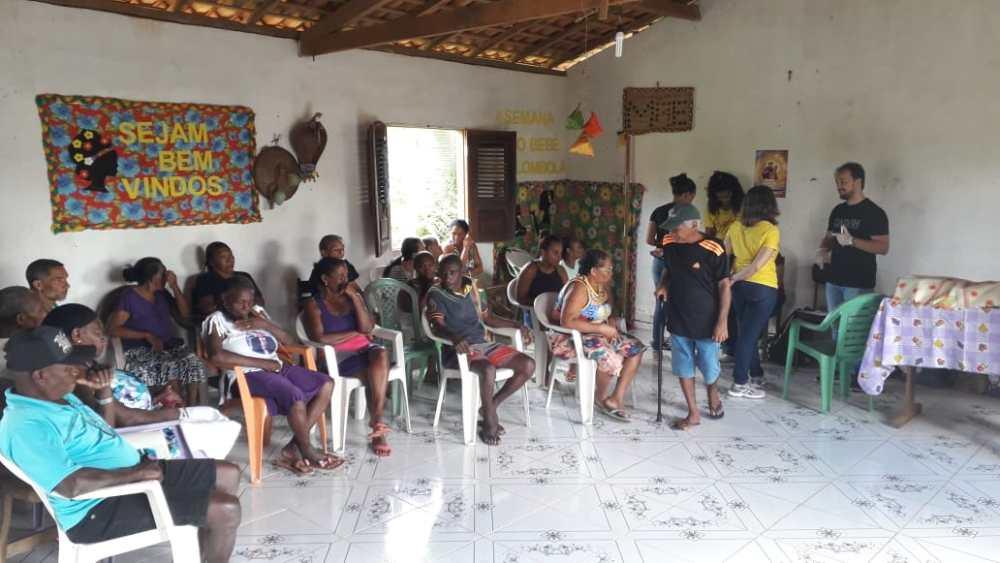 Foto de Pesquisadores da UFMA avaliam condições de vida e saúde de idosos quilombolas de Bequimão-MA
