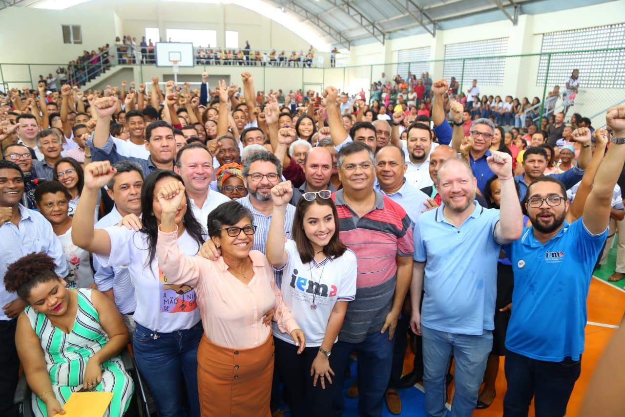Photo of Othelino Neto participa da inauguração de unidade plena do Iema em Cururupu