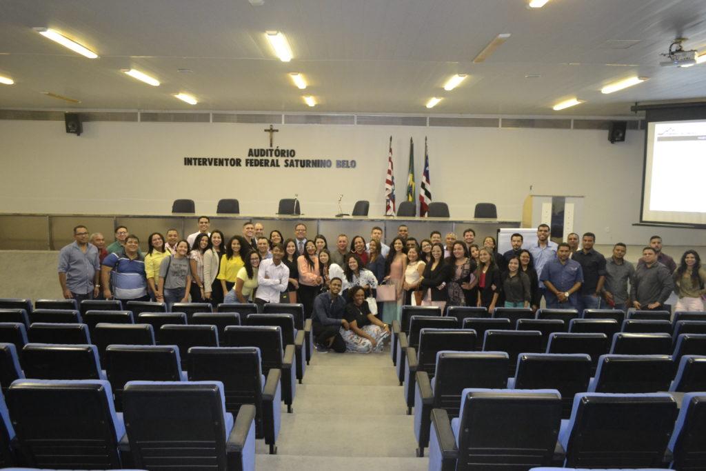 """Photo of Estudantes de Direito do IESF participam do projeto """"Conhecendo o TCE"""""""