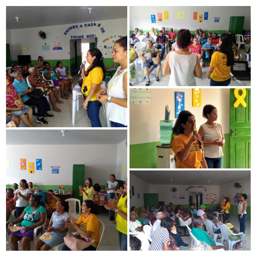 Foto de Prefeitura de Alcântara realiza ação do Setembro Amarelo na Casa de Apoio ao Idoso