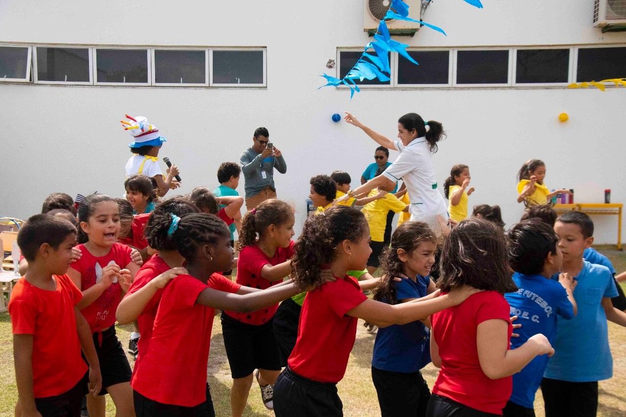 Photo of Alunos da Creche-Escola Sementinha participam de programação especial alusiva ao Dia da Criança