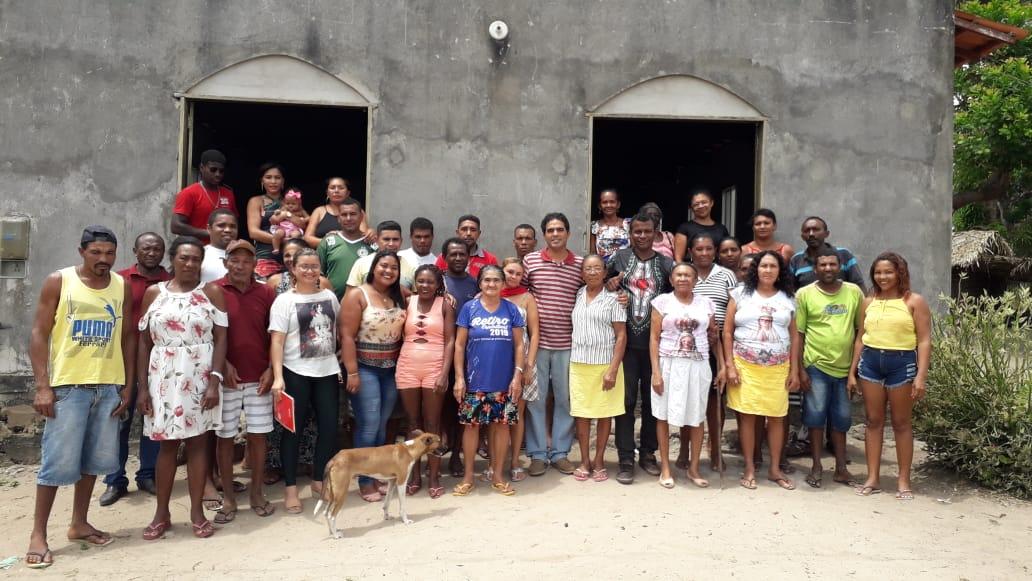 Foto de Prefeitura de Bequimão e MoqBeq continuam trabalhos para certificação das comunidades de Boa Vista, Iriritíua e Santa Tereza
