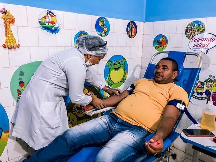 Foto de Prefeitura de Bequimão e Hemomar realizam nova coleta de sangue no município