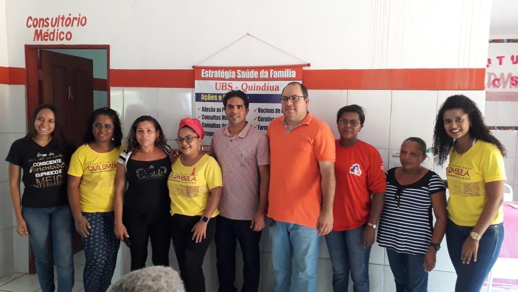 Photo of Com o apoio da Prefeitura de Bequimão, UFMA realiza nova coleta para estudo sobre a saúde de idosos quilombolas