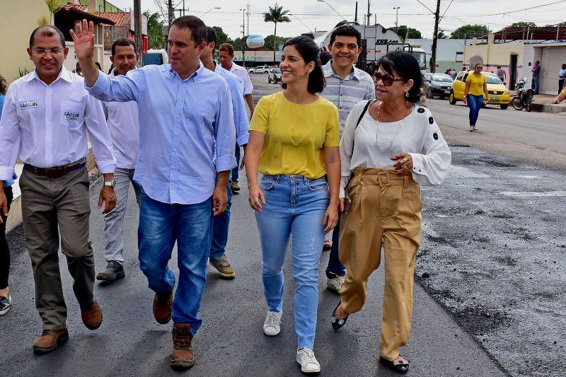 Photo of Após solicitação da vereadora Fátima Araújo, prefeito Edivaldo inicia asfaltamento no Parque Universitário e Planalto Pingão