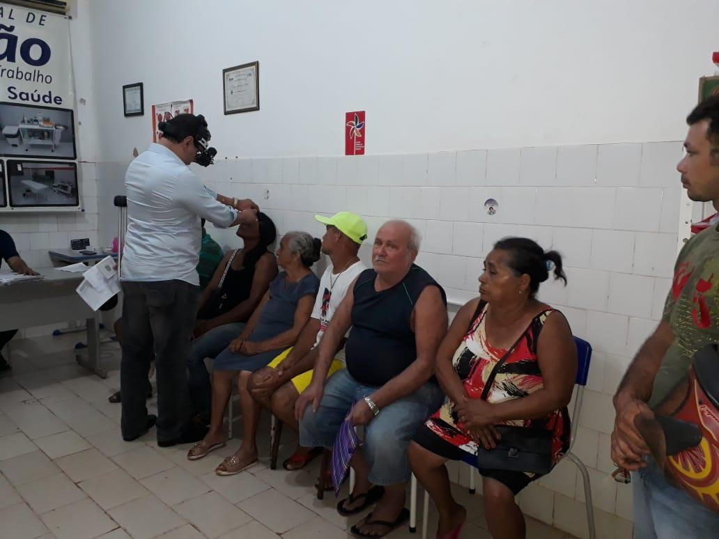 Photo of Mutirão do Glaucoma atendeu 125 pessoas em Bequimão-MA