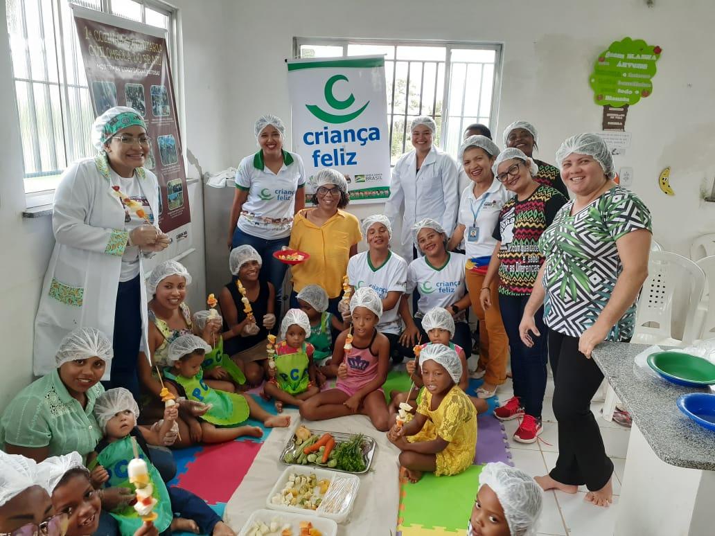 Photo of Comunidades beneficiárias do programa 'Criança Feliz' de Alcântara recebem visita da consultora do Ministério da Cidadania