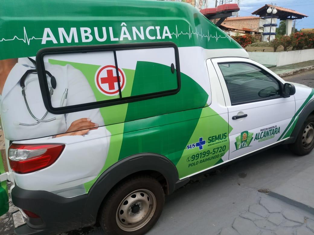 Photo of Prefeito de Alcântara entrega a 4ª ambulância em 3 anos de gestão