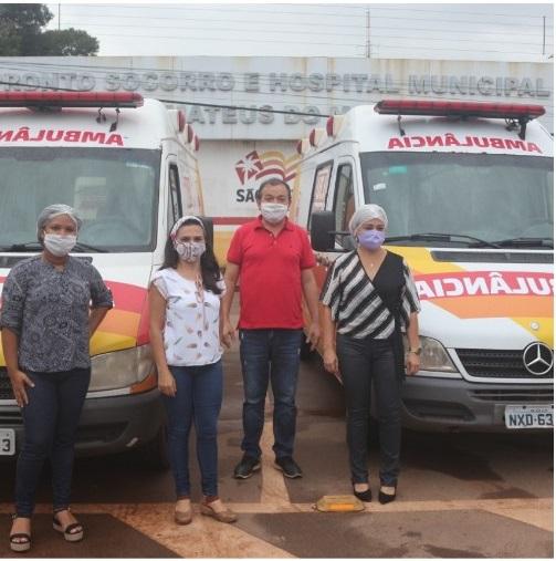 Photo of Prefeito Miltinho Aragão entrega UTI Móvel para transporte de pacientes da Saúde de São Mateus