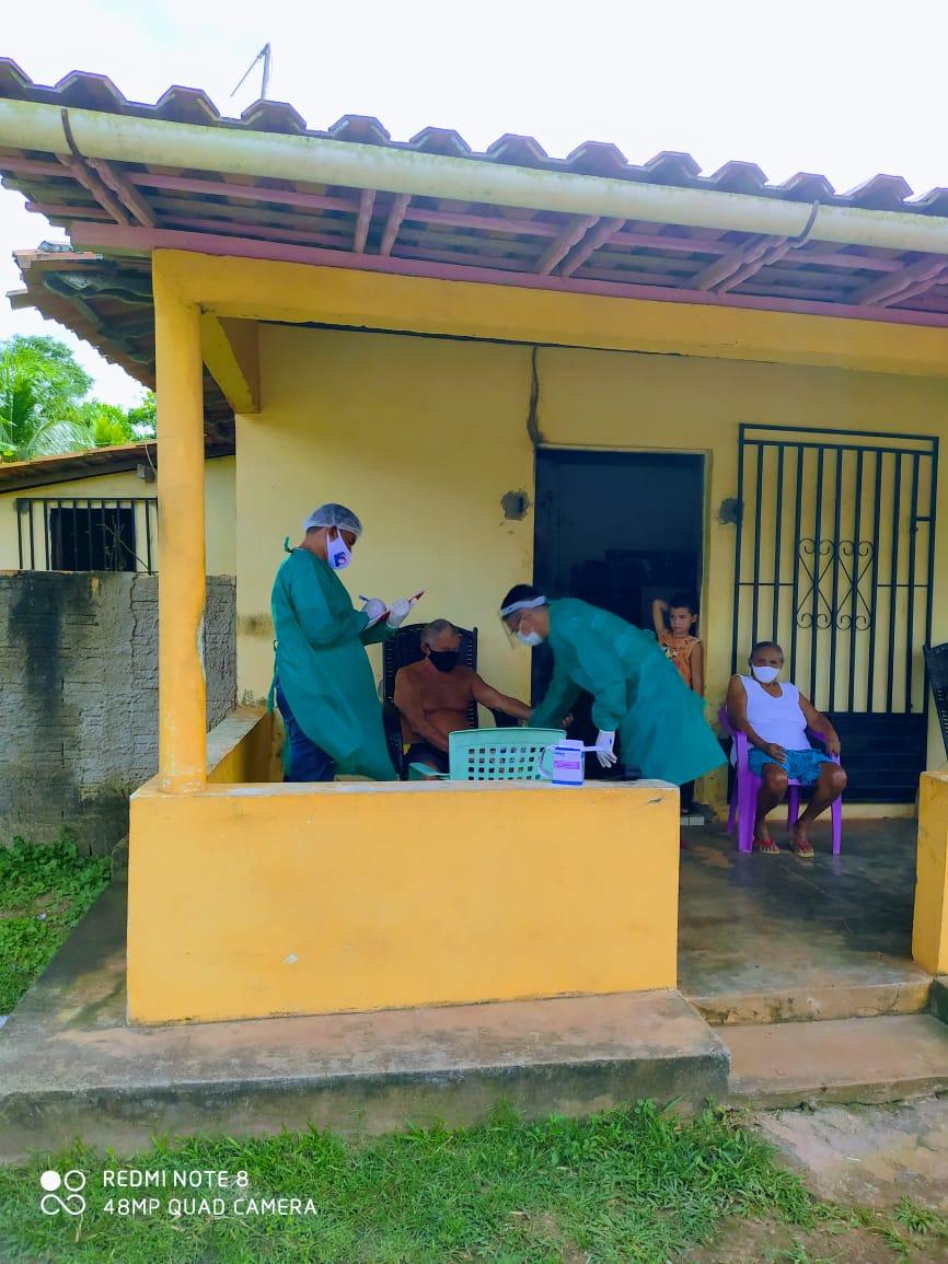 Photo of Em um mês equipe de monitoramento domiciliar em Bequimão visitou 322 pacientes