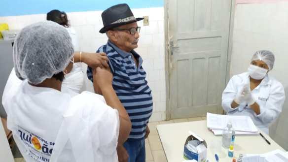 Photo of Prefeitura de Bequimão intensifica Campanha de Vacinação contra a Influenza; município já ultrapassa meta nacional de vacinação