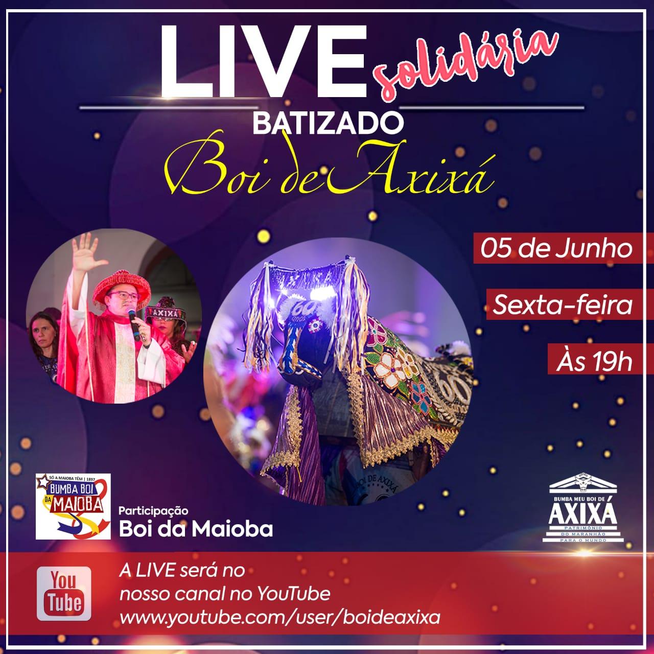 Photo of Boi de Axixá inova e faz live para pedir a bênção para o São João