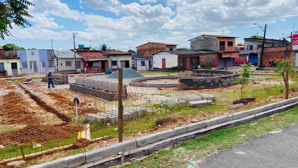 Photo of Avança construção da Praça Dr Jackson Lago na Vila Conceição/João de Deus