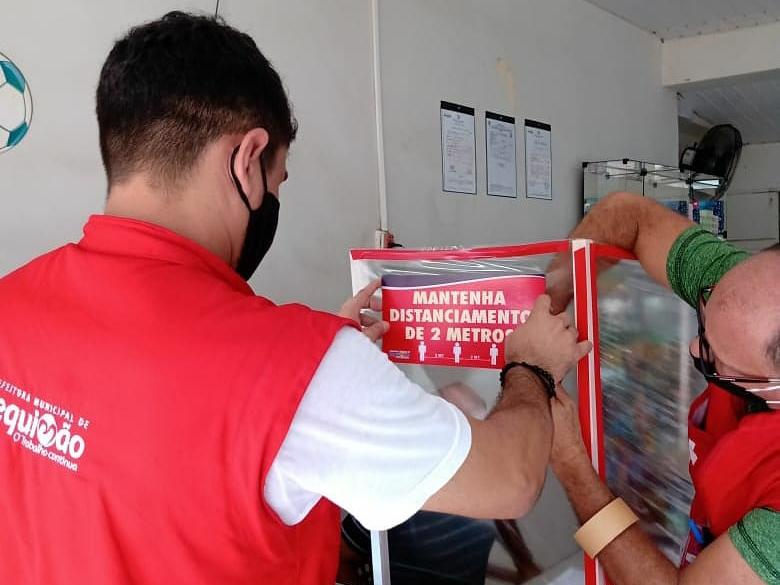 Photo of Prefeitura intensifica fiscalização ao comércio essencial em Bequimão-MA