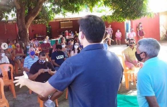 Photo of Rubens Jr visita Cidade Olímpica e dialoga com moradores