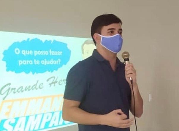 Photo of Rubens Jr faz pré-campanha híbrida entre presencial e online