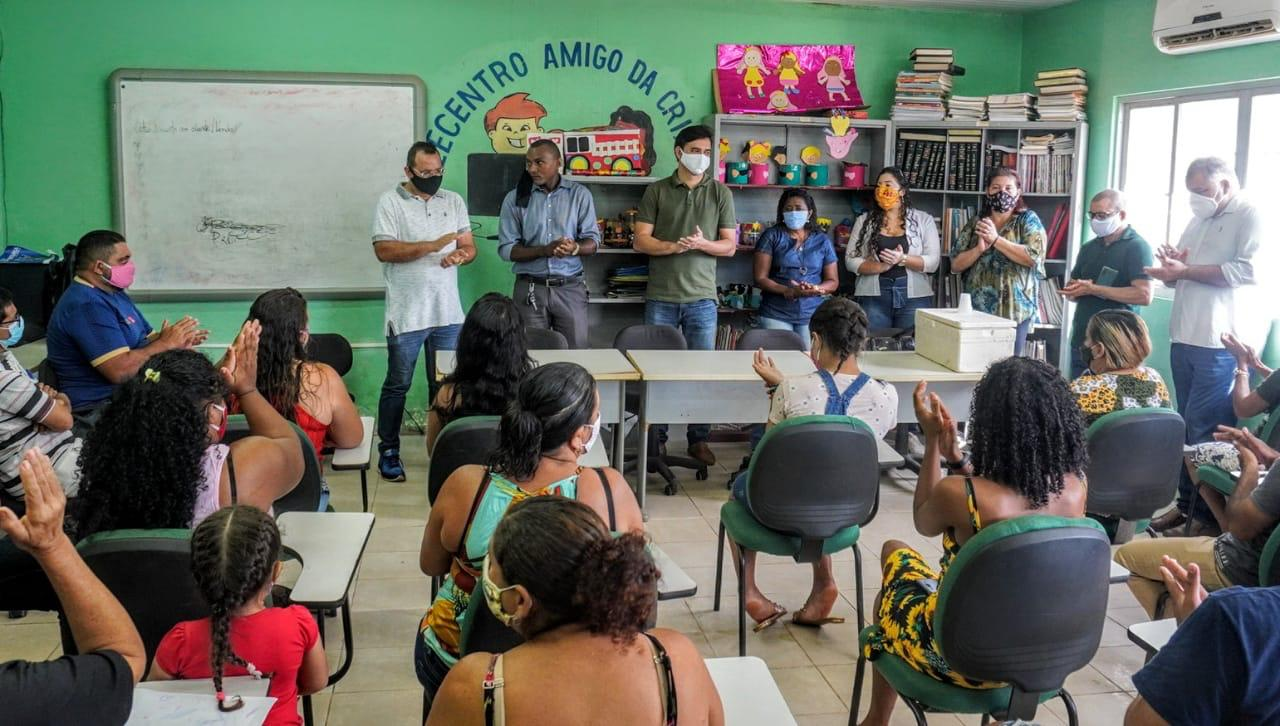 Photo of Rubens Jr participa de debate sobre o papel da mulher na política no bairro Cidade Olímpica