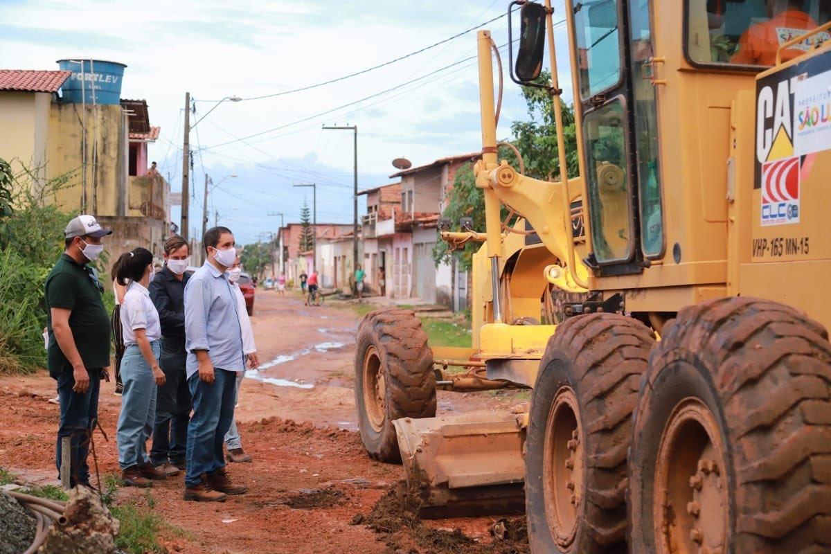 Photo of Prefeito Edivaldo Holanda Jr em ritmo acelerado em São Luís