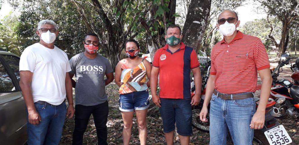 Photo of Pré-candidato a prefeito de Bequimão, João Martins recebe lideranças