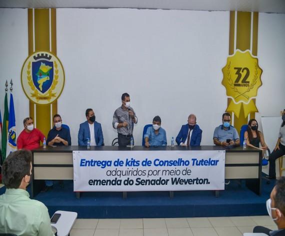 Photo of Municípios recebem equipamentos para conselhos tutelares oriundos de emendas de Weverton