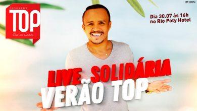 Photo of Live solidária 'Verão Top' acontece nesta quinta-feira (30)
