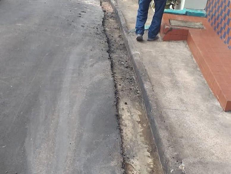 Photo of Semosp continua colocando meio-fio em ruas do Santo Antônio