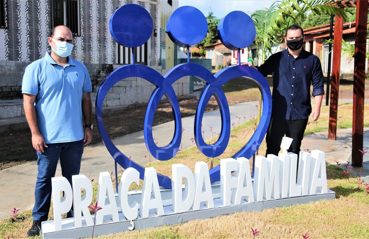 Photo of Prefeito Anderson Wilker inaugura Praça da Família em Alcântara-MA