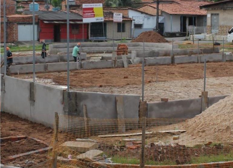 Photo of Construção da Praça Dr Jackson Lago completa 30 dias de trabalho