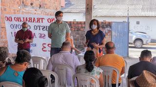 Photo of Rubens Jr e Rose Sales reúnem lideranças no Cruzeiro do Anil
