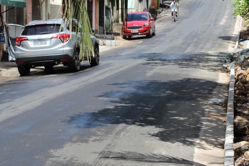 Photo of Semosp está colocado meio-fio em ruas do bairro Santo Antônio