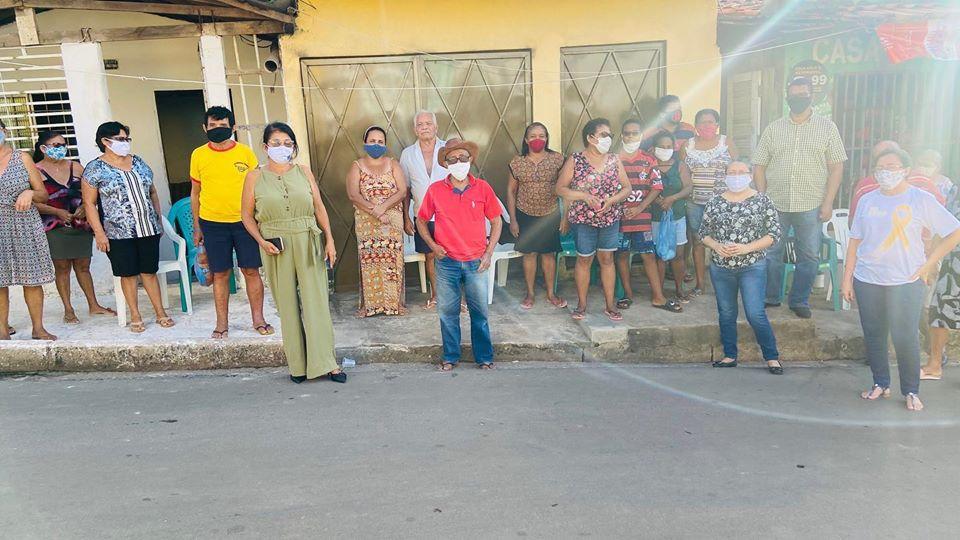 Photo of Vereadora Fátima Araújo visita comunidade do bairro São Cristóvão