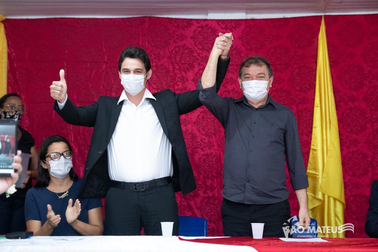 Photo of Vice-prefeito de São Mateus-MA assume o comando interino do município por 60 dias