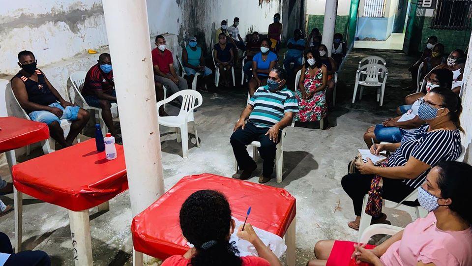 Photo of Vereadora Fátima Araújo reúne com moradores da Vila Lobão